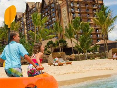 Aulani Fourth Night Free January 4 – March 28, 2015
