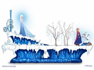 """Frozen"" Parade Float coming to Disneyland"