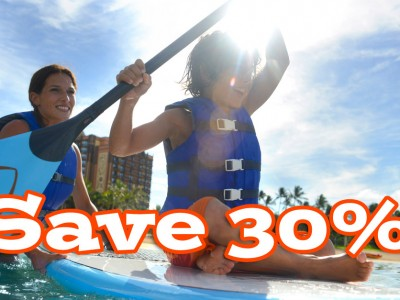 Save 30% at Aulani April 6 – June 15, 2015