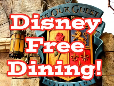 2015 Walt Disney World Free Dining – August 28 – December 21, 2015