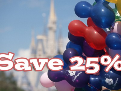 2015 Walt Disney World Fall Savings – October 4 – December 23, 2015